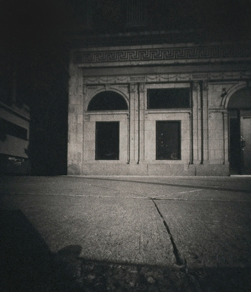 pinhole photography, platinum palladium print, non silver photography, broad street, Laurie Beck Peterson, BECK Photography