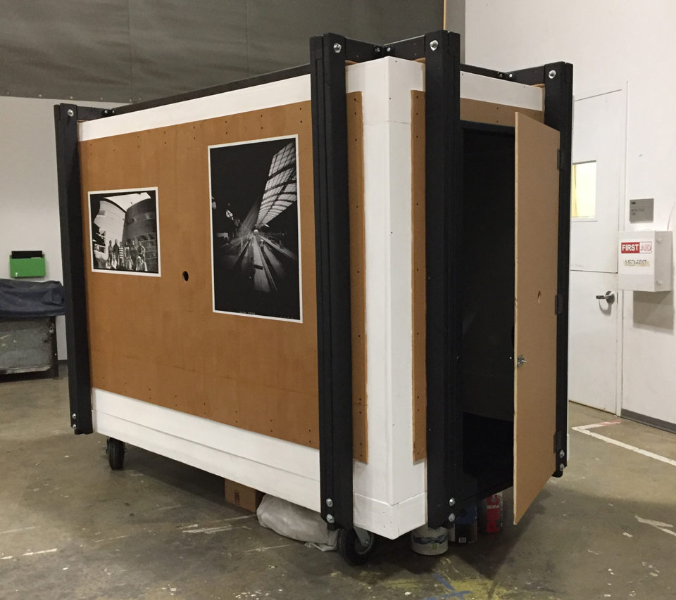 Tyler School of Art, Giant mobile camera obscura, collaborative art, Laurie Beck Peterson